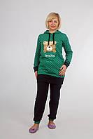 Теплая пижама: туника и брюки