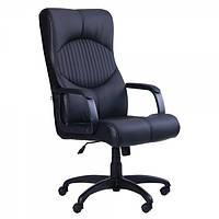 Кресло руководителя Геркулес подлокотники пластик Софт, механизм TILT