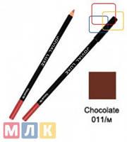 Jovial Luxe Карандаш для губ и глаз деревянный ML-185 №11 chocolate, 1,8 г
