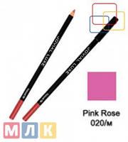 Jovial Luxe Карандаш для губ и глаз деревянный ML-185 №20 pink rose m., 1,8 г