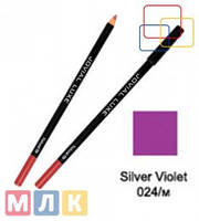 Jovial Luxe Карандаш для губ и глаз деревянный ML-185 №24 silver violet, 1,8 г