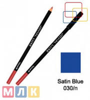 Jovial Luxe Карандаш для губ и глаз деревянный ML-185 №30 satin blue, 1,8 г