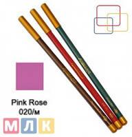Jovial Luxe Карандаш для губ и глаз деревянный ML-180 №20 pink rose m., 1,8 г