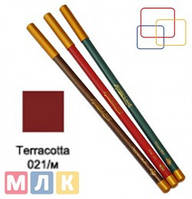 Jovial Luxe Карандаш для губ и глаз деревянный ML-180 №21 terracota, 1,8 г