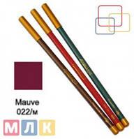 Jovial Luxe Карандаш для губ и глаз деревянный ML-180 №22 mauve, 1,8 г