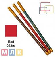 Jovial Luxe Карандаш для губ и глаз деревянный ML-180 №23 red, 1,8 г