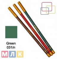 Jovial Luxe Карандаш для губ и глаз деревянный ML-180 №31 green, 1,8 г