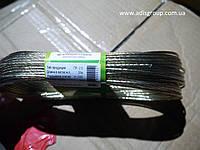 Трос металлополимерный в оплетке ПВХ ПР-2.5, мотки 20м