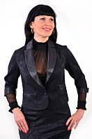 Жакет-болеро из жаккардовой стрейчевой ткани (жк 031-1)