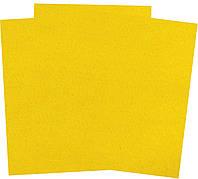 Фетр мягкий,желтый, 100% полиэстер 20*30 см., Santi