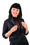 Жакет-болеро из жаккардовой стрейчевой ткани (жк 031-1), фото 4