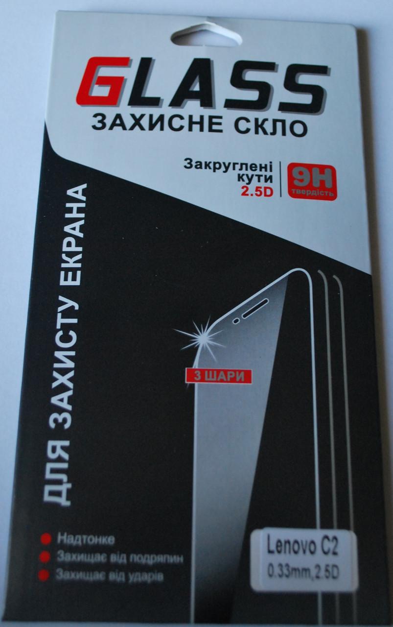 Закаленное защитное стекло для Lenovo C2, F1009