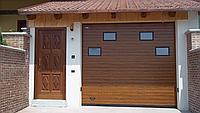 Ворота гаражные секционные RSD02 3000х3000 Doorhan
