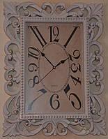 Оригинальные настенные часы большие (61х46х5 см.)