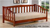 Кровать односпальная Onder Mebli Norman Day Bed 100х200 Малайзия