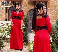 Платье, ат1026 ДГ батал, фото 1