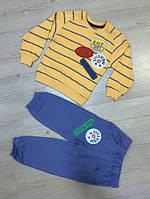Детский Спортивный Костюм  Желтый Турция  Рост 86-104 см