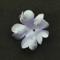Цветок пятилистник., яблочко Прозрачный. Размер 15 мм