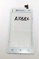 Сенсорный экран для мобильного телефона Lenovo A788t, белый  AAA