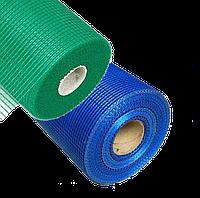 Сетка штукатурная фасадная 145г/м2 синяя Fiberglass