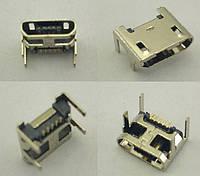 Коннектор Micro USB, Micro USB разъем для китайского планшета, телефона, тип 4 №4. 1 шт