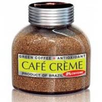 Растворимый кофе  CAFE CREME  без кофеина 100 грамм