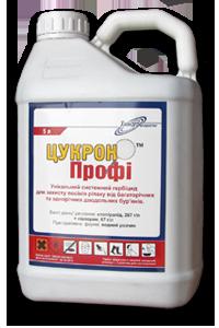 Гербицид Цукрон Профи аналог Галера Супер, клопиралид 267 г/л, пиклорам 67, г/л, для рапса, капусты