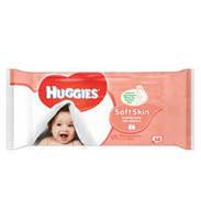Влажные салфетки Huggies Soft Skin Baby Wipes