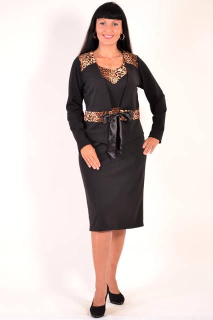 Костюм женский  с платьем ( КОС 768031), фото 1