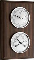 Метеостанция TFA, орех, d=70/70 мм, 194х120х19 мм