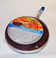 Сковорода  с антипригарным покрытием и крышкой 28 см
