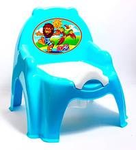 """Горшок детский пластиковый с крышкой """"ТехноК"""", 3244 (набор 10 шт)"""