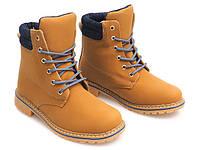 Стильные зимние ботинки YELL/BLU