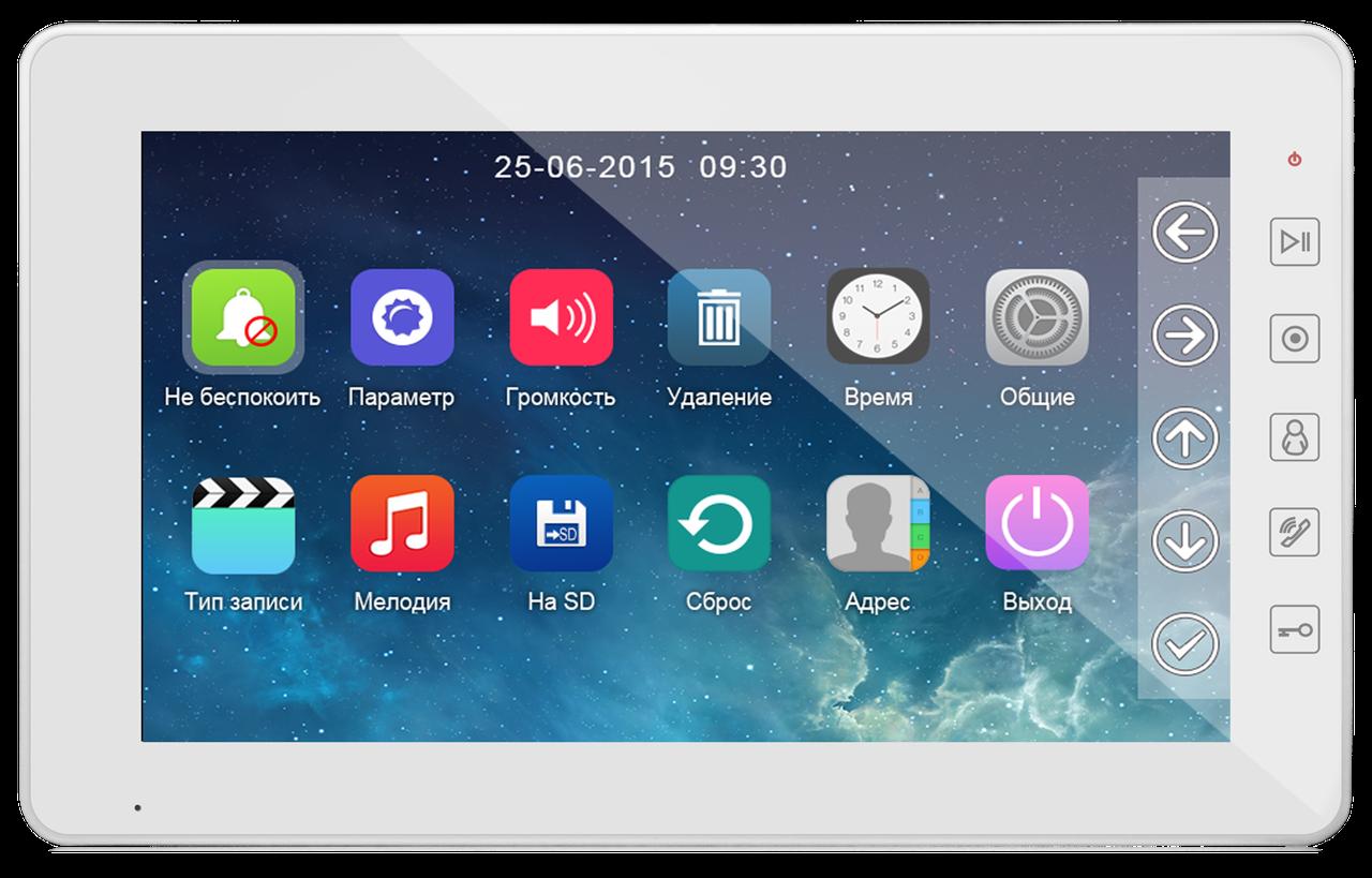 Відеодомофон Qualvision QV-IDS4A09 WHITE
