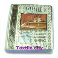 Набор для сауны женский - юбка на липучке,полотенце для волос ,тапочки MERZUKA.