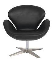 Кресло СВ черное