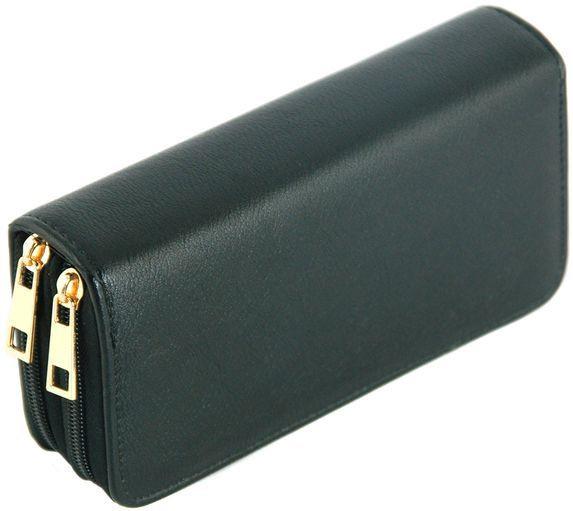 Мужской бумажник-портмоне из искусственной кожи Traum 7110-10, темно-коричневого
