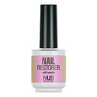 Средство для восстановления ногтей с кератином NUB Nail Restorer 15 мл