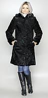 Каракулевая женская черная шуба М-111 42-52  размеры