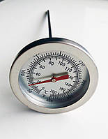 Кухонний термометр, металевий, 0-200 градусів