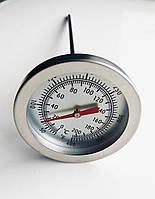 Кухонний термометр зі щупом голкою та кліпсою, металевий, 0-200 градусів, фото 1