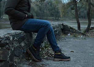 Зимние мужские ботинки Caterpillar CAT на меху топ реплика, фото 2