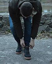 Зимние мужские ботинки Caterpillar CAT на меху топ реплика, фото 3