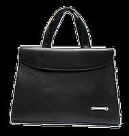 Сумка-портфель женская из искусственной кожи черного цвета DOP-826983, фото 1