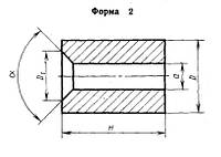 Вставки-заготовки из спеченных твердых сплавов для высадочного инструмента 1010-0752 ВК10-КС ГОСТ 10284-84