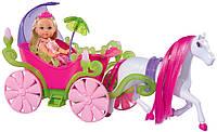 Кукла Evi в карете с лошадкой (Simba), фото 1
