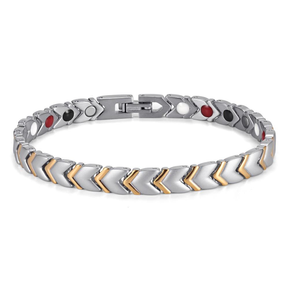 Терапевтический магнитный браслет женский (Визион) БС 1202006