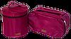 Вместительный органайзер для косметики ORGANIZE (винный), фото 7