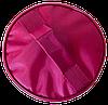 Круглый органайзер для косметики ORGANIZE (винный), фото 5