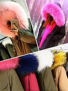 Женская зимняя парка индивидуальный пошив